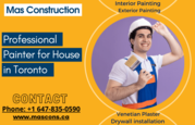 Hire Professional Painter for House in Toronto