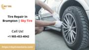 Tire Repair in Brampton: Sky Tire
