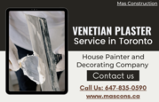 Venetian Plaster Service in Toronto - Mas Construction