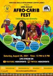 Afro-Carib Fest YouTube Event