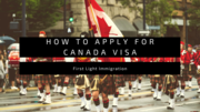 How to apply for Canada Visa