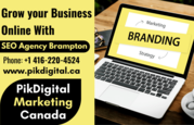 Grow your Business Online With SEO Agency Brampton